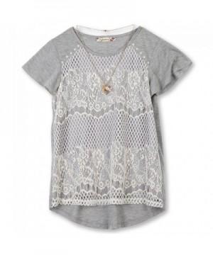 Speechless Girls 7 16 Front T Shirt
