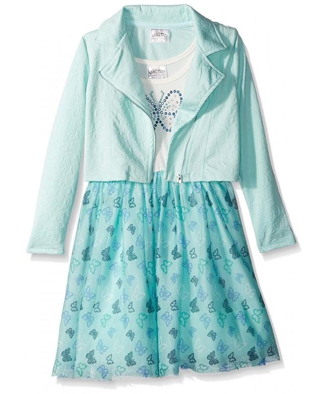 Beautees Girls Little Jacket Butterfly