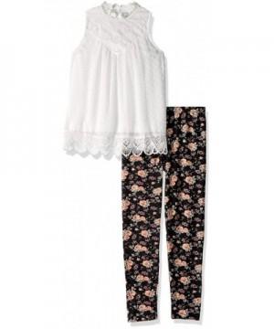 Beautees Girls Fashion Printed Legging