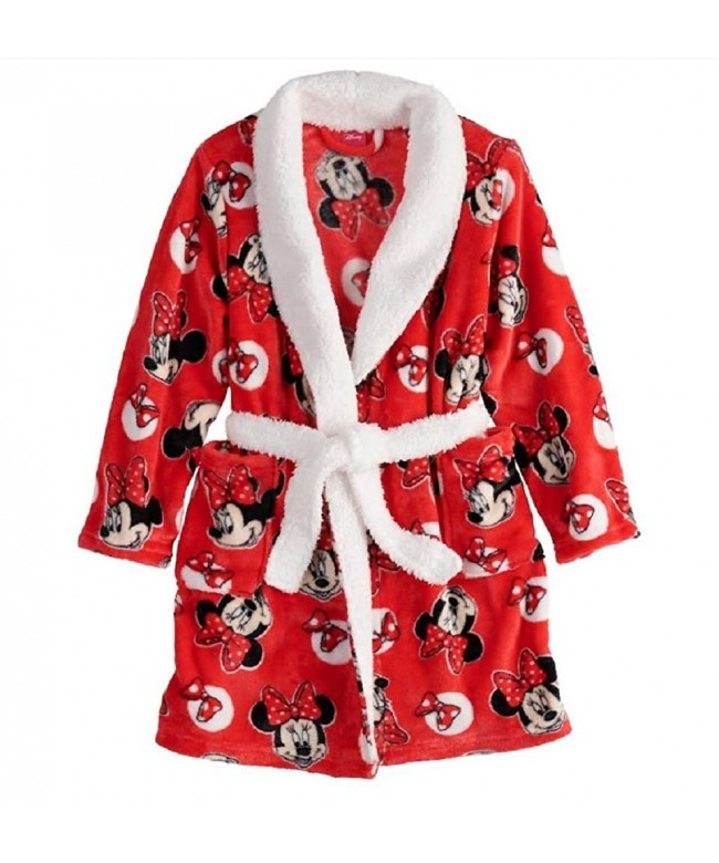 Disneys Minnie Mouse Plush Robe