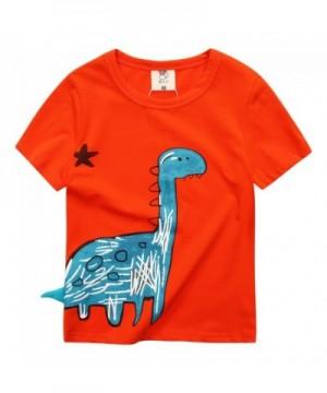 VYU Sleeve Dinosaur Shirt Cotton