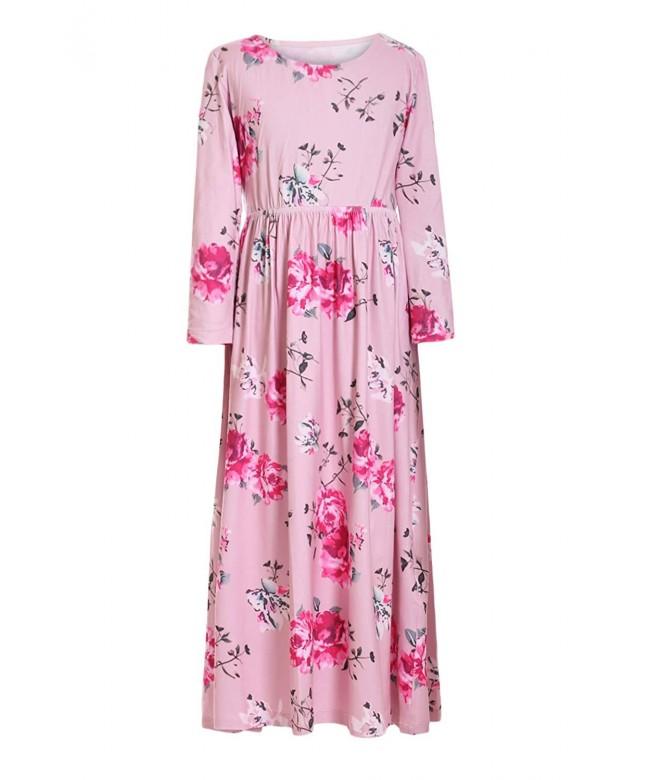 Azokoe Girls Floral Sleeve Sleeveless