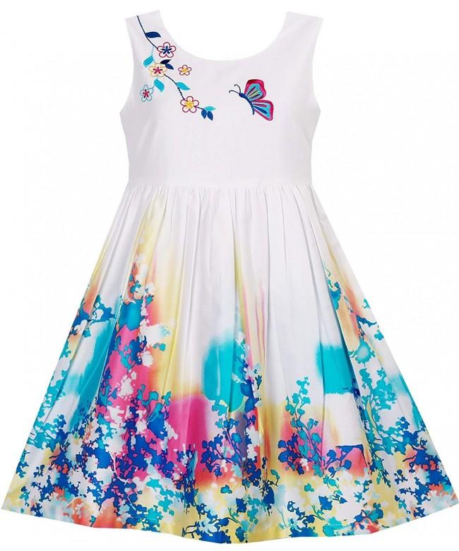 Sunny Fashion Butterfly Seeking Embroidery