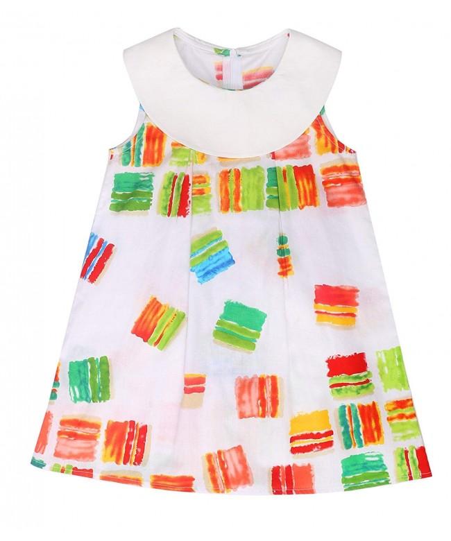 Sugar Pocket Dresses colorful Printed
