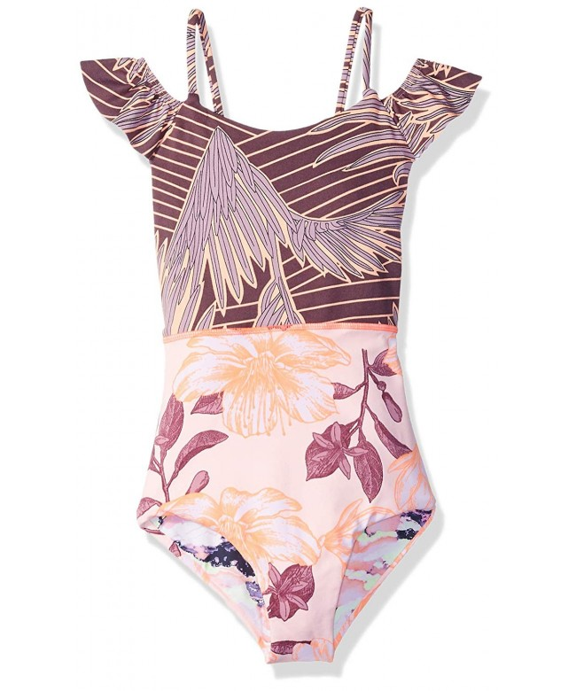 Maaji Girls Swimsuit Ruffle Detail