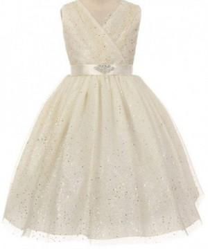 Glitter Rhinestone Special Flowers Dresses