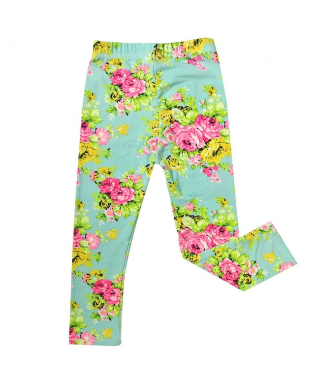 Bowbear Girls Floral Bouquet Leggings