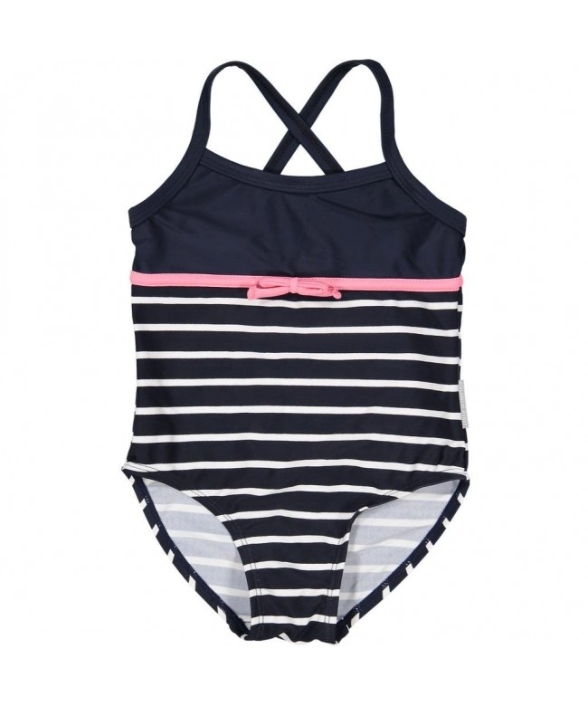 Polarn Pyret Striped Swimsuit 6 8YRS