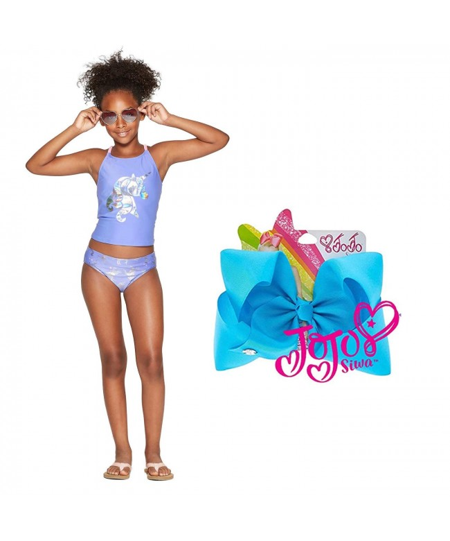 Unicorn Tankini Swimsuit Little Purple