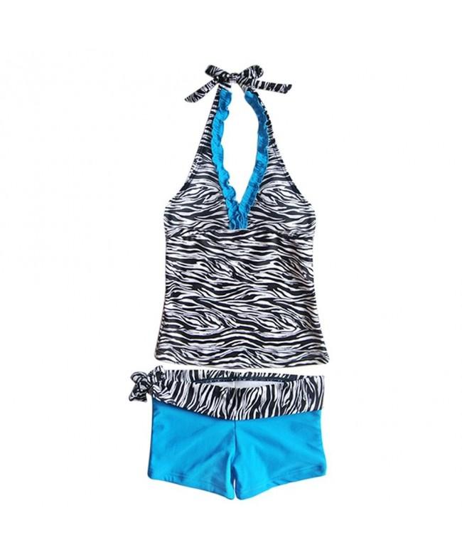 iEFiEL Halter Tankini Swimwear Bathing