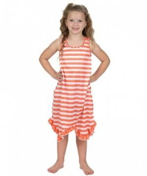 Laura Dare Tangerine Racerback Nightgown