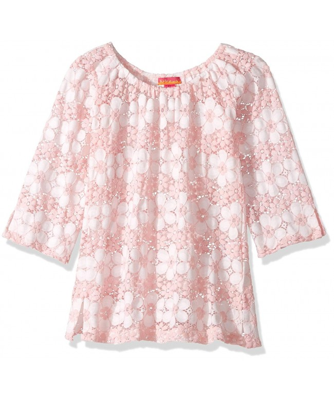 Kate Mack Daisies Crochet Coverup