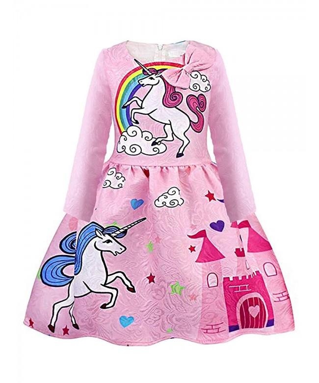 Summer Sleeveless Unicorn Toddler Rainbow