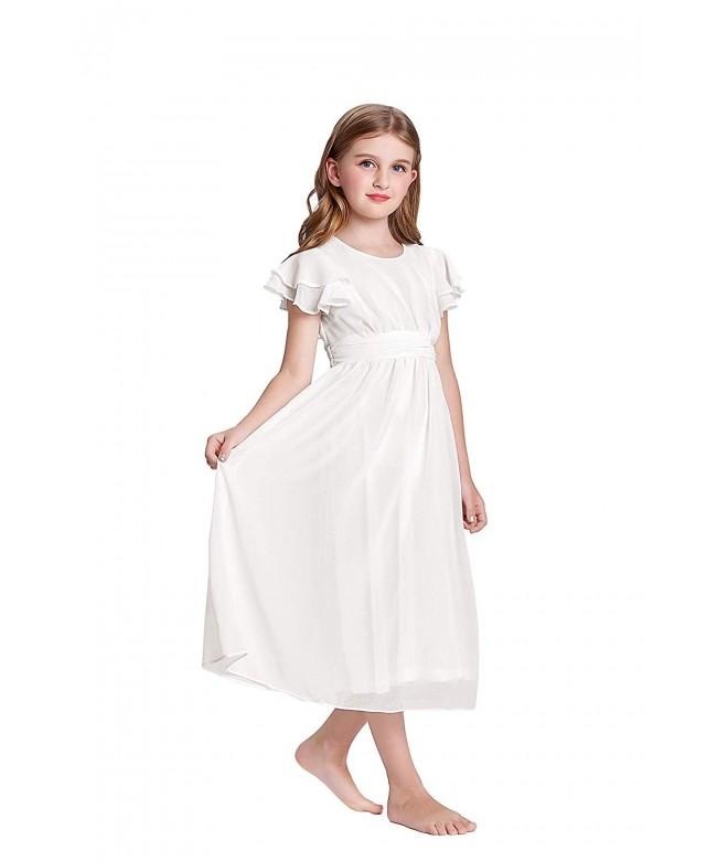 GRACE KARIN Sleeve Chiffon Dresses