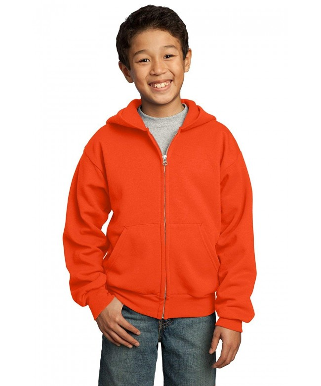 Company Youth Full Zip Hooded Sweatshirt