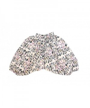 Cotton Harem Pants Leaves Print