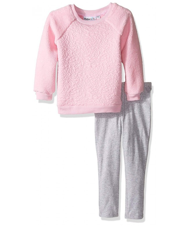 Kids Headquarters Girls Sherpa Leggings