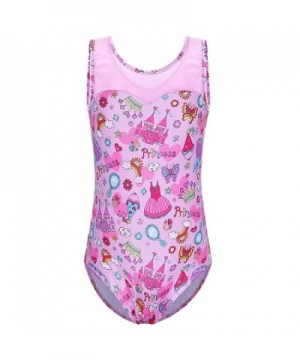 Leotard Toddler Gymnastics Spliced Outfit