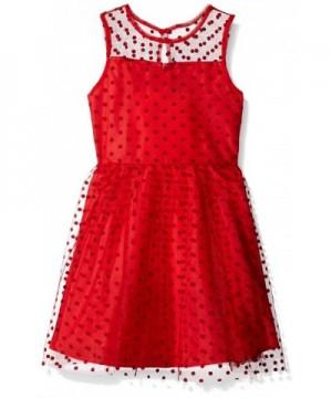 Marmellata Girls Illusion Party Dress