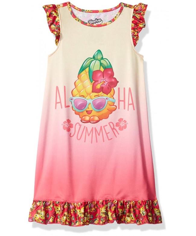 Intimo Girls Shopkins Ruffle Nightgown