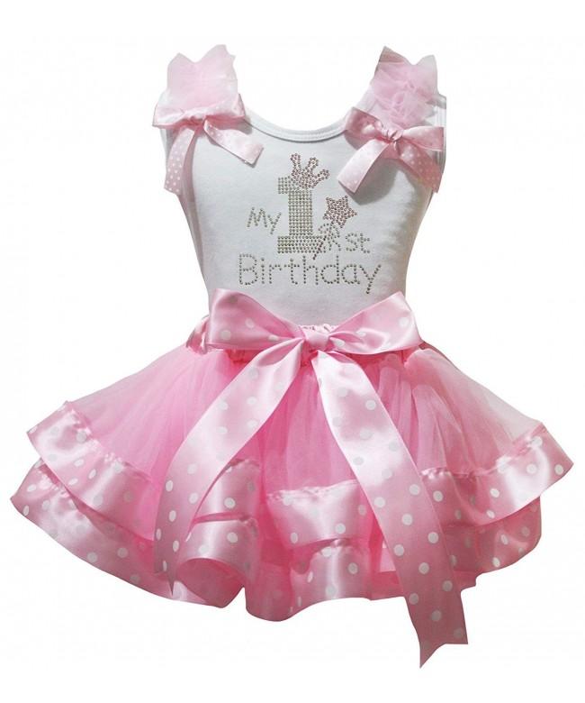 Petitebella Birthday Dress White Ribbon