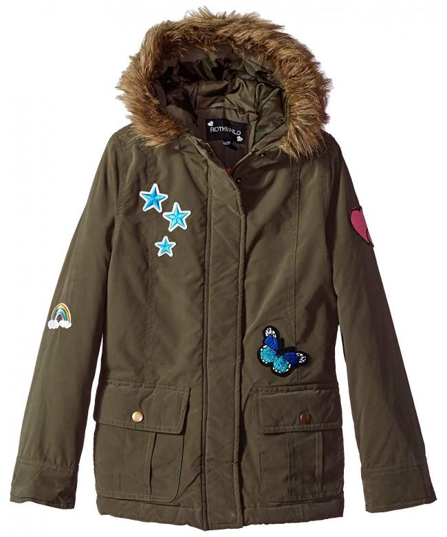 Rothschild Girls Big Patch Jacket
