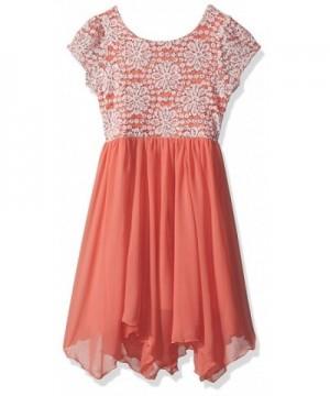 Speechless Girls Floral Sequin Dress