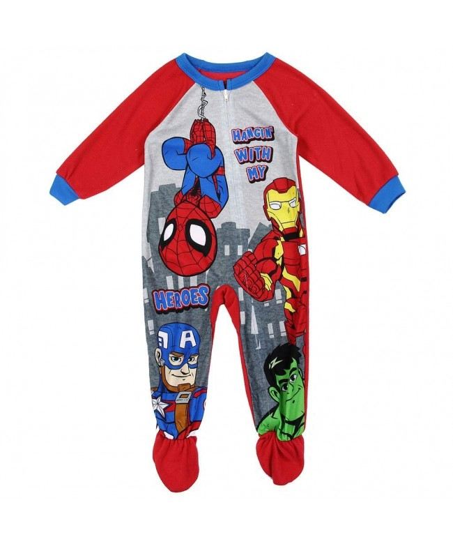 Spiderman Little Toddler Blanket Sleeper