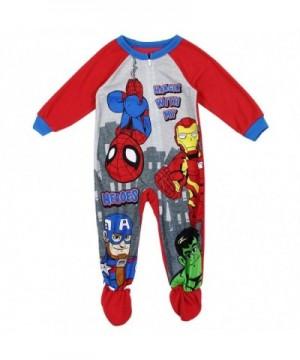Spiderman Little Toddler Blanket Sleeper