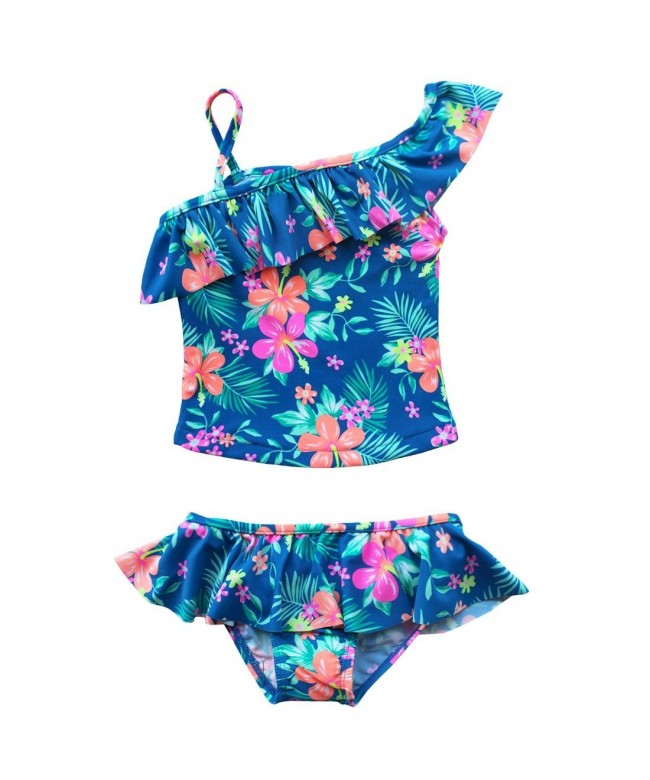 CHICTRY Toddlers Flounce Swimsuit Swimwear