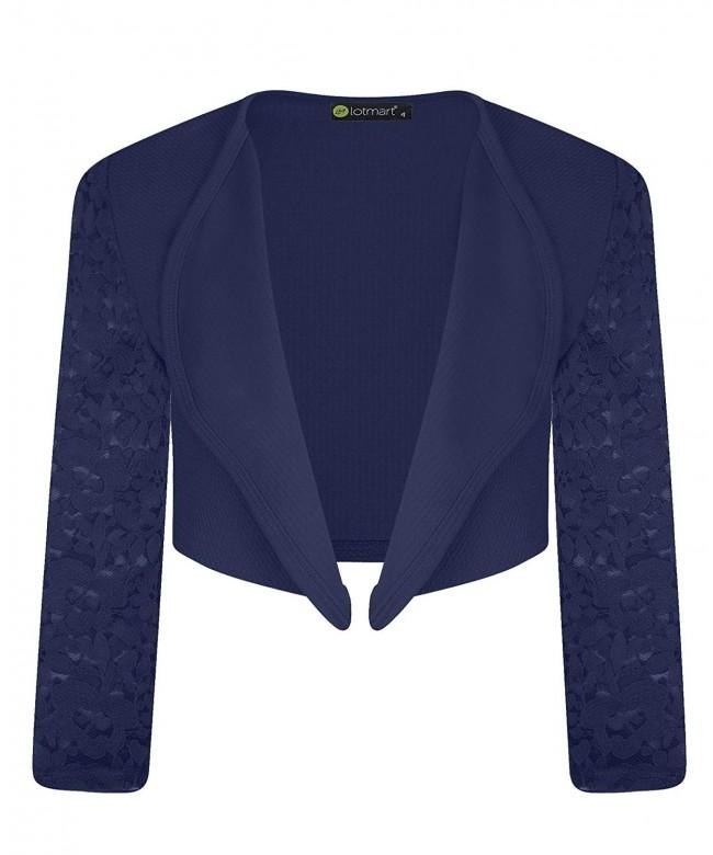 LotMart Sleeve Bolero Jacket Cardigan
