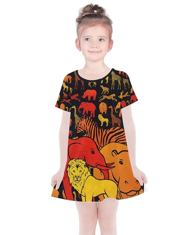 PattyCandy Outfit Animals Sleeveless Cotton