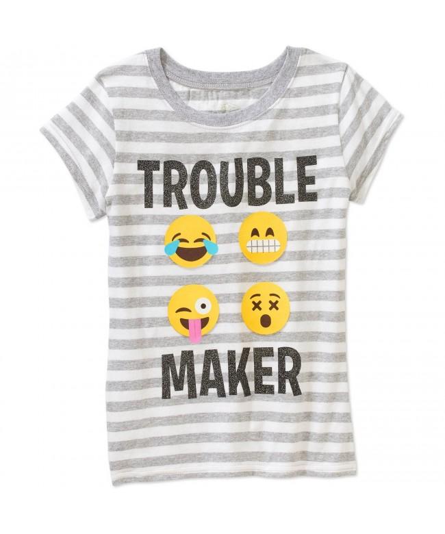 Girls Trouble Maker Emoji Graphic