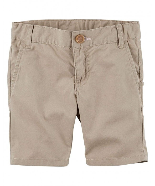 Toddler Carters Twill Uniform Shorts