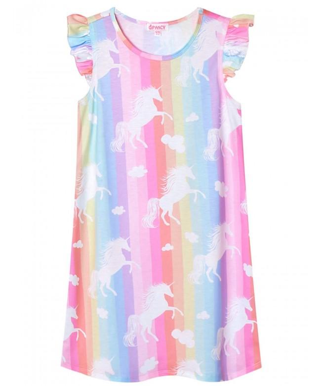 QPANCY Nightgowns Princess Nightdress Sleepwear